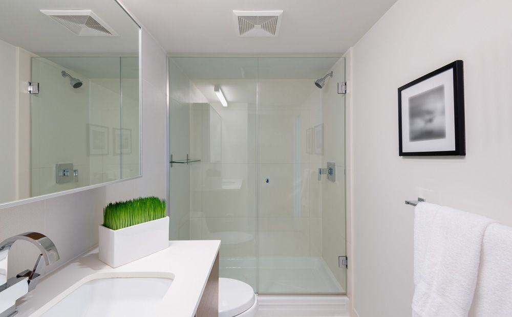Inloopdouche in kleine badkamer | Ideeën voor het huis | Pinterest
