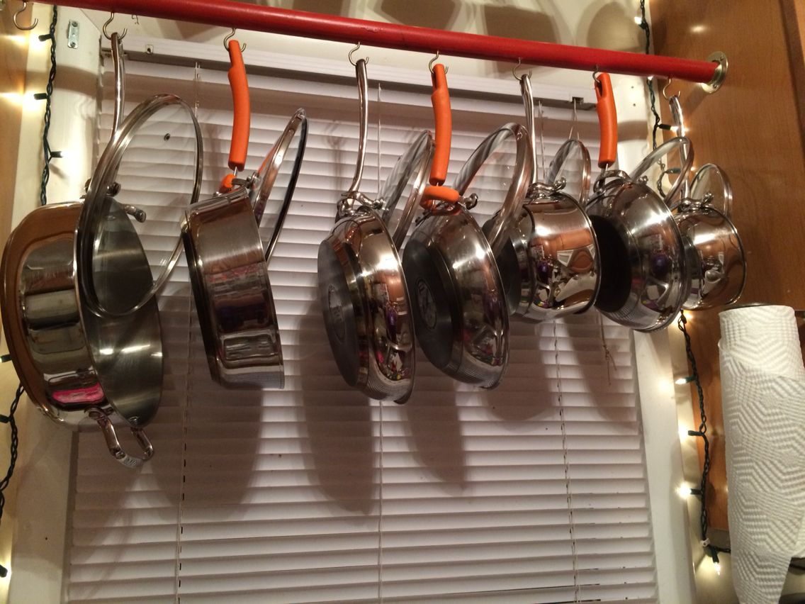 How to keep your pots and pans with their lids