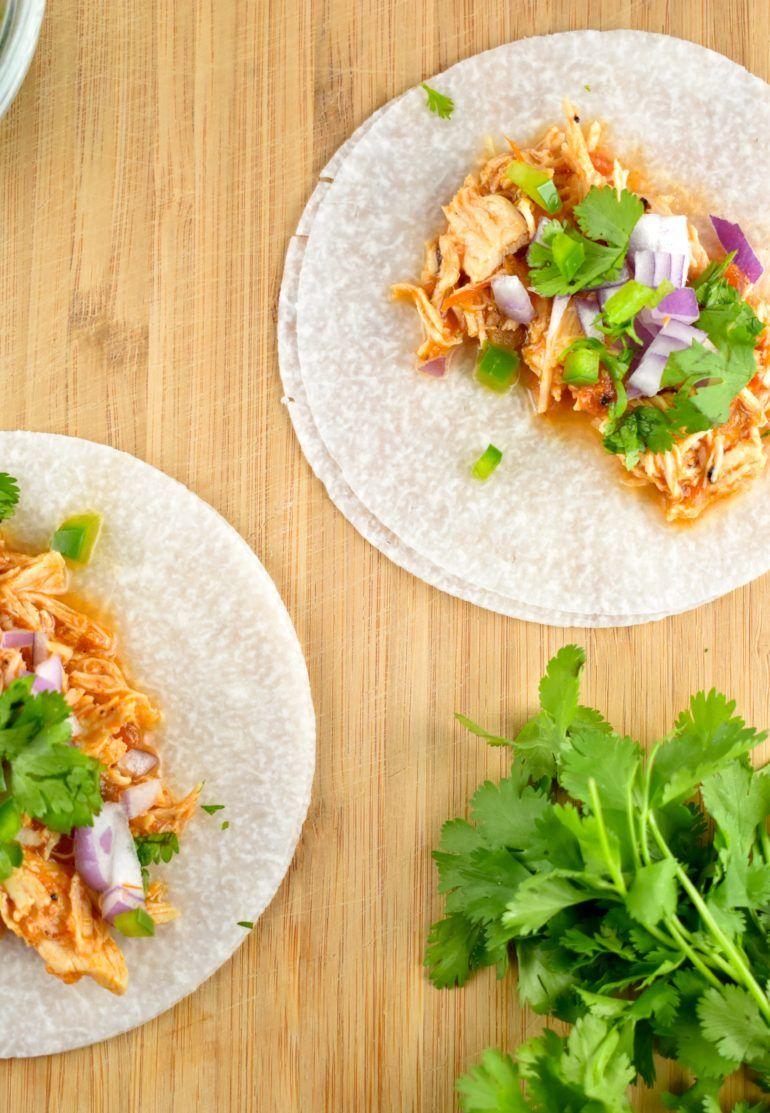 Jicama Tortilla Chicken Tacos Recipe 0 Points Laaloosh Recipe Jicama Recipes Ww Super Bowl Recipes