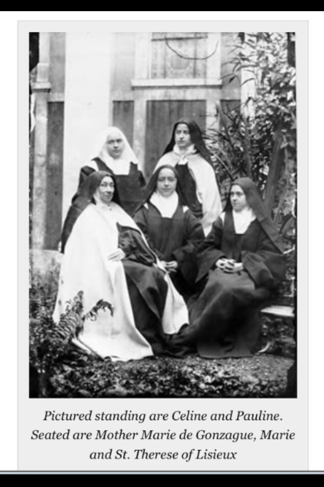 St Therese of Lisieux and companions