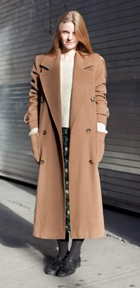 Images of Long Camel Coat - Reikian