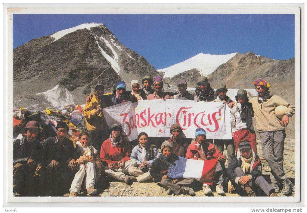 Tibet Himalaya Troupe Zanskar Circus au Col du Shingo-La 5100 m Vallée des Lamaseries Cirque Aout 2004 - Delcampe.net