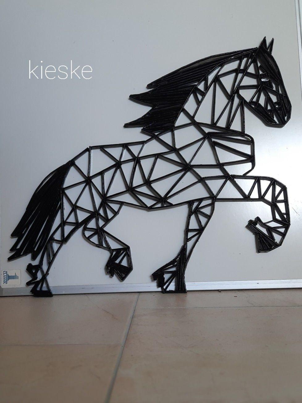 Fries Paard Fries Paard Paarden Dieren Kaarten