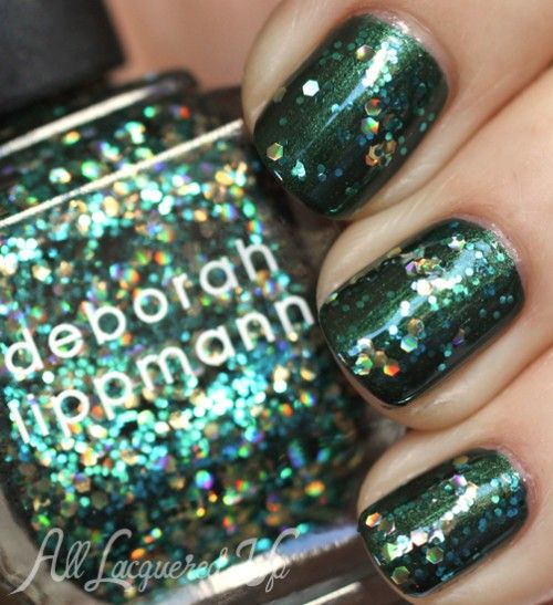 Deborah Lippmann Shake Your Money Maker - Deborah Lippmann Fall 2013 Jewel Heist   Swatches & Review