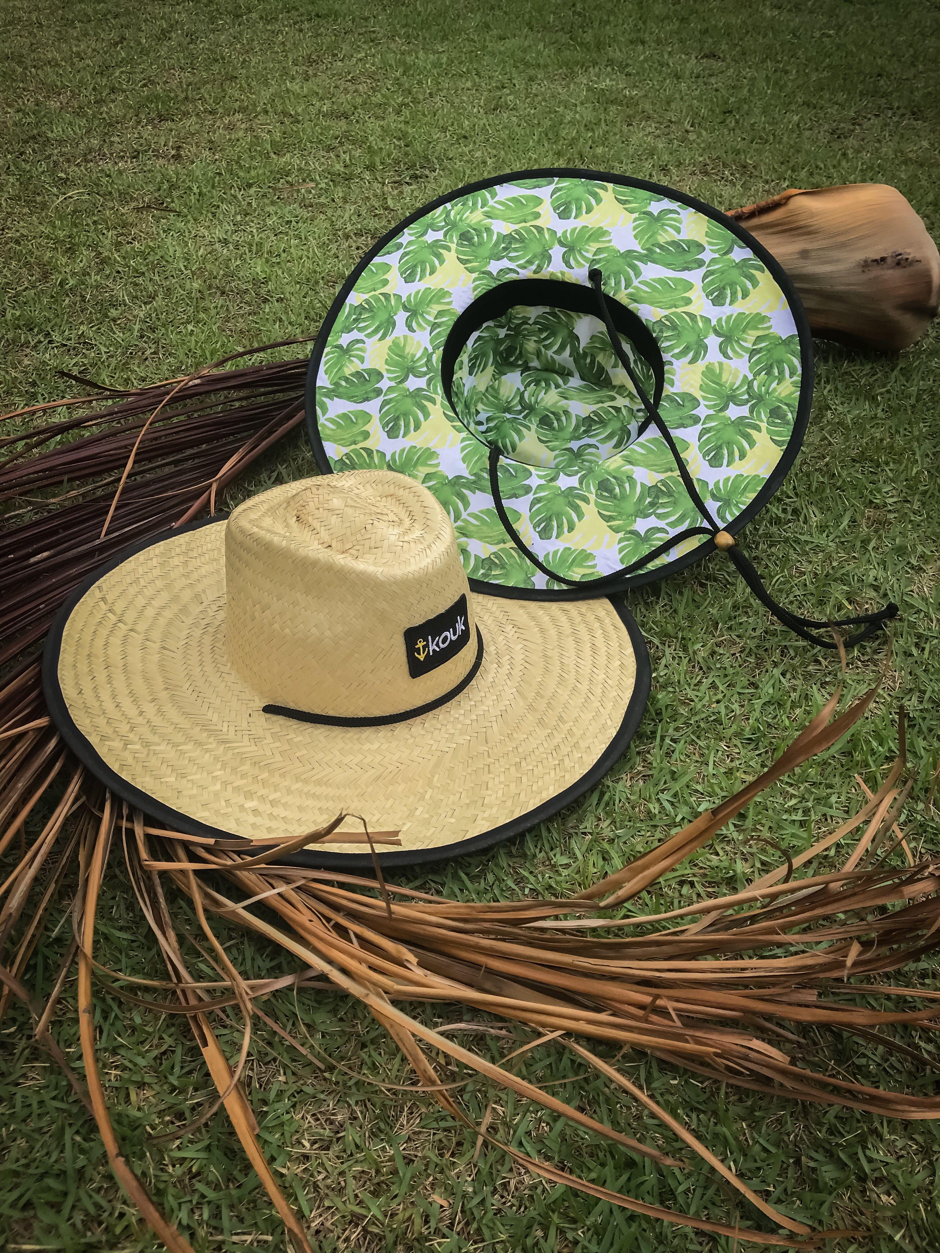 Chapéu de Palha Surf Chapéu de Palha Estampado Chapéu de Palha com Estampa  Chapéu de Palha Praia 04f2c13a066