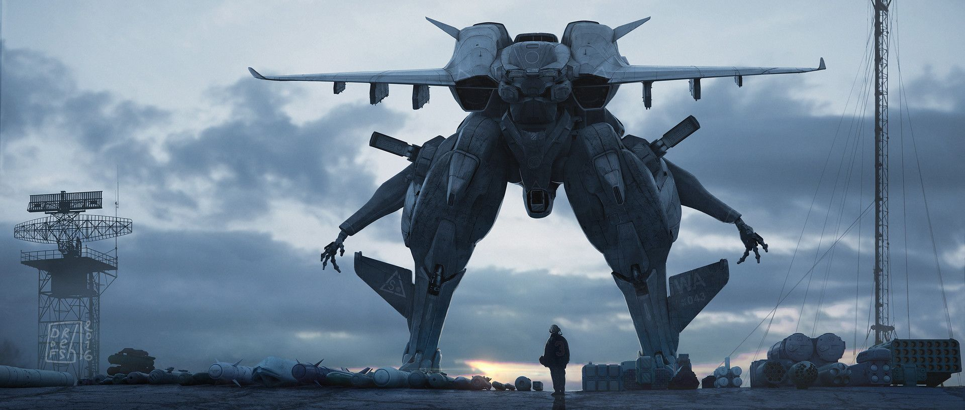 ArtStation - So many tons of democracy waiting to get delivered, _ DOFRESH _