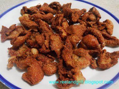 Reel And Grill Chicharon Balat Ng Manok Or Tsitsarong Manok