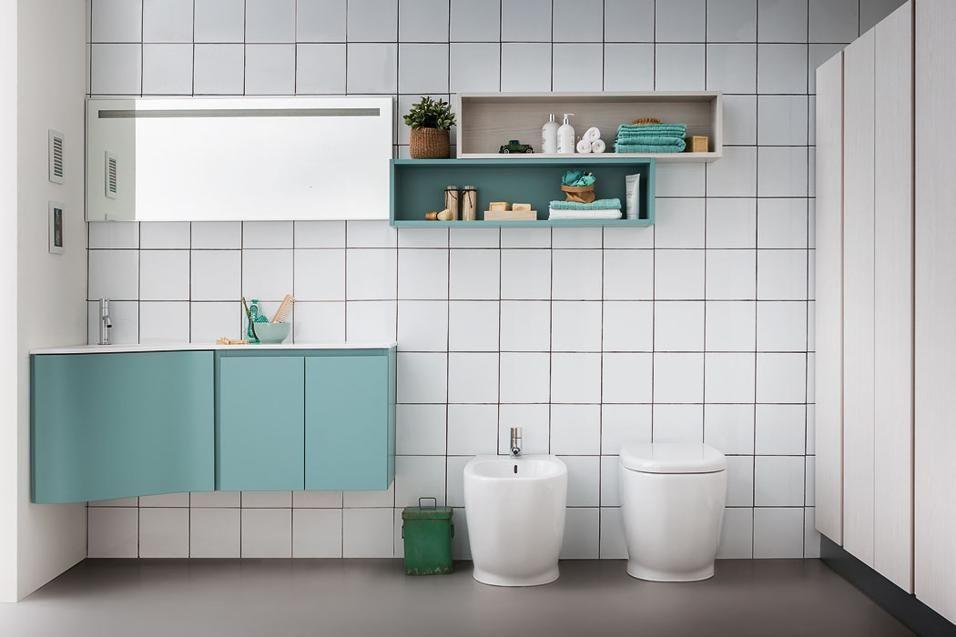 Soluzioni per arredare un bagno piccolo con mobili compatti