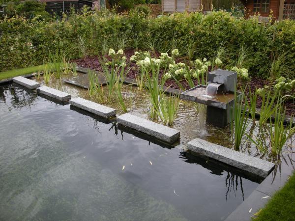 klein vijvertje aanleggen google zoeken decoratie tuin