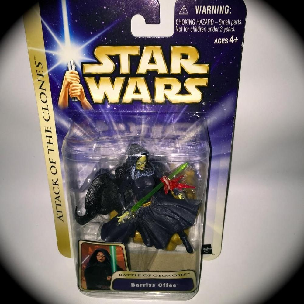 STAR WARS RARE Barriss Offee (Battle of Geonosis)ACTION FIGURE (Episode II) NEW