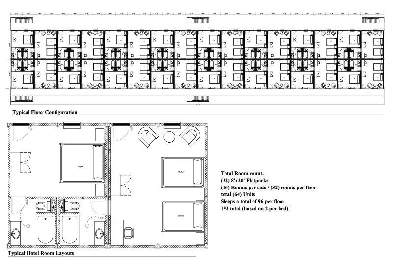 Motel style plan floor plans in 2019 apartment plans - Free room design website ...