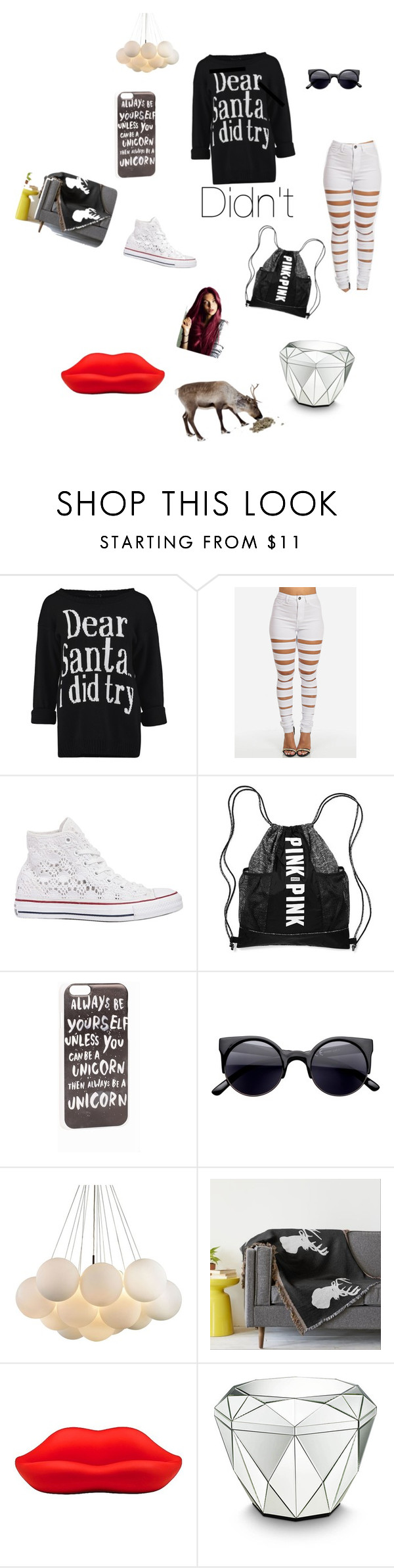 """""""I don't care right know"""" by desisu ❤ liked on Polyvore featuring interior, interiors, interior design, home, home decor, interior decorating, Converse, JFR and Heller"""