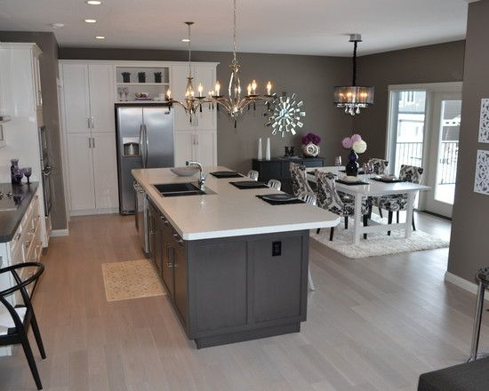 Kitchen Gray And White Kitchens Design Pictures Remodel Decor
