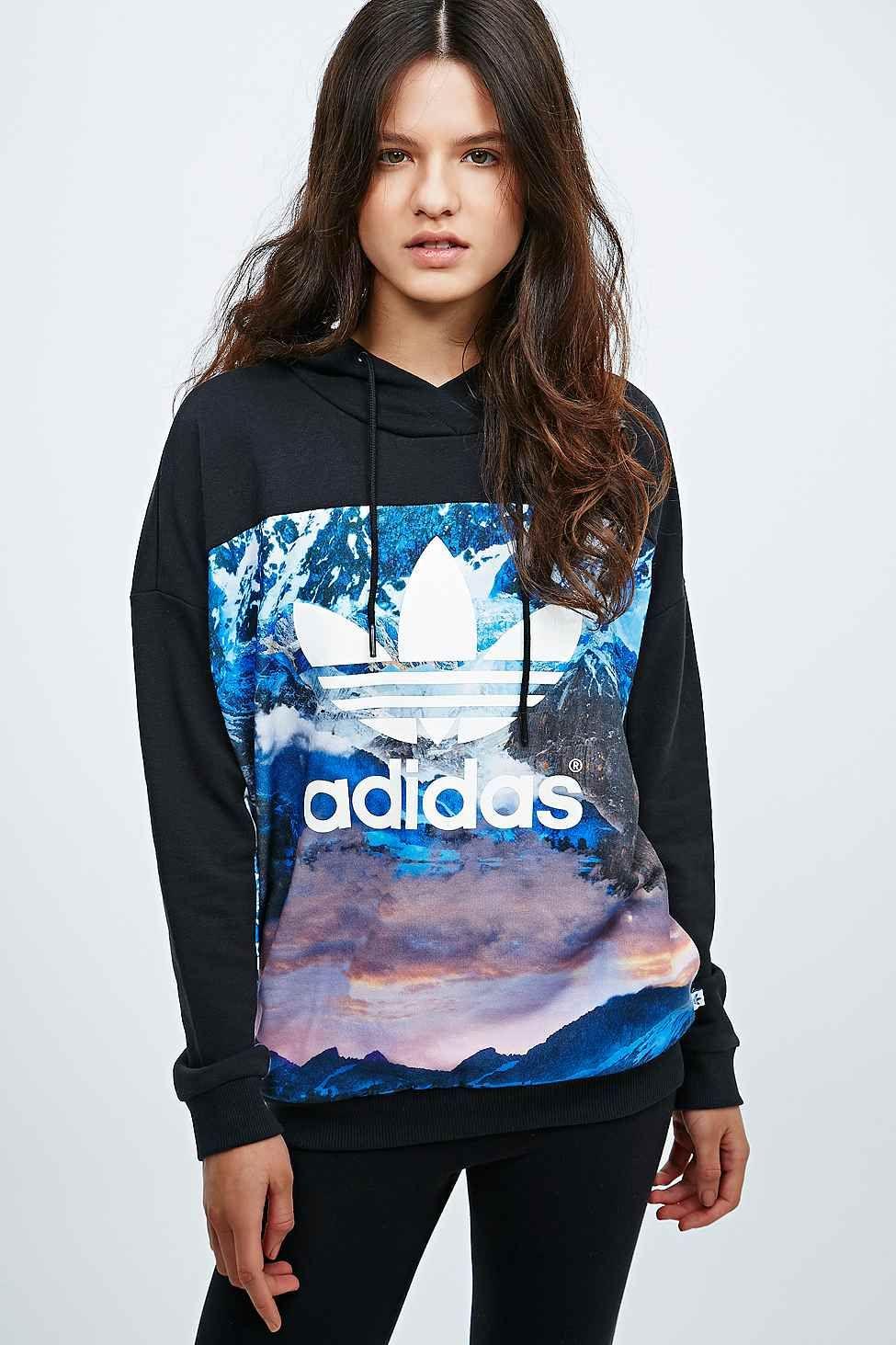 Adidas Mountain Clash Hoodie Hoodies Urban Fashion Fashion [ 1463 x 975 Pixel ]