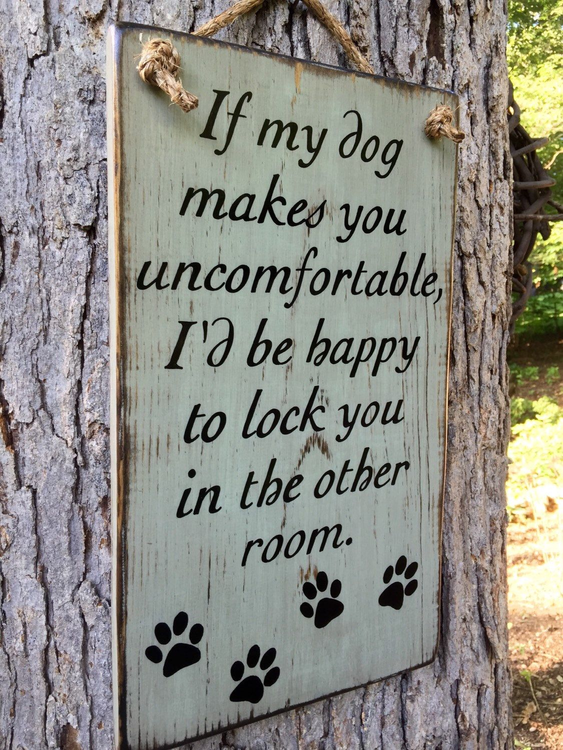 Dog Sign, family, wood sign, porch sign, sign, dog