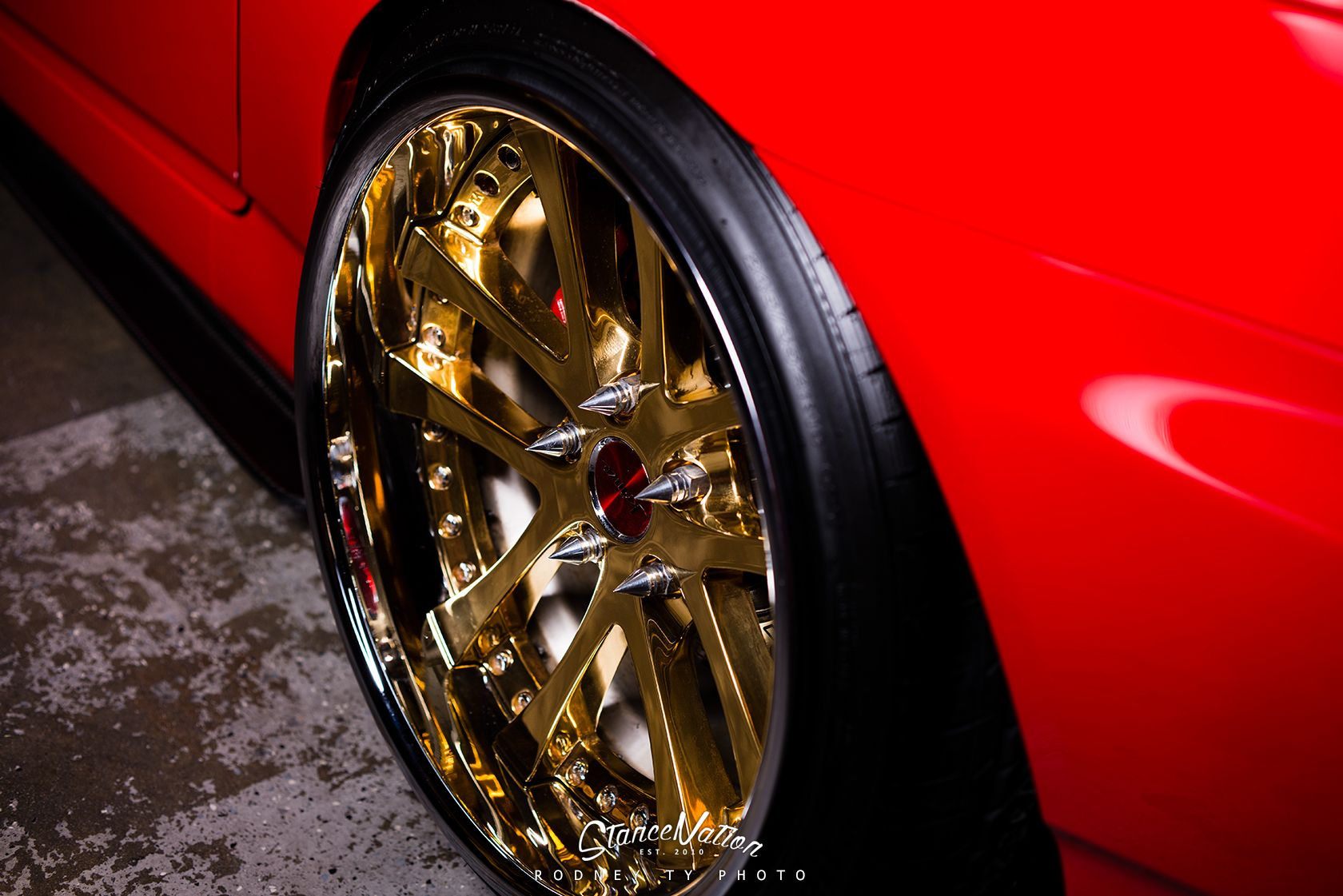 Wheels and Tires: WEDS Sport Kranze LXZ Wheels (with chromed