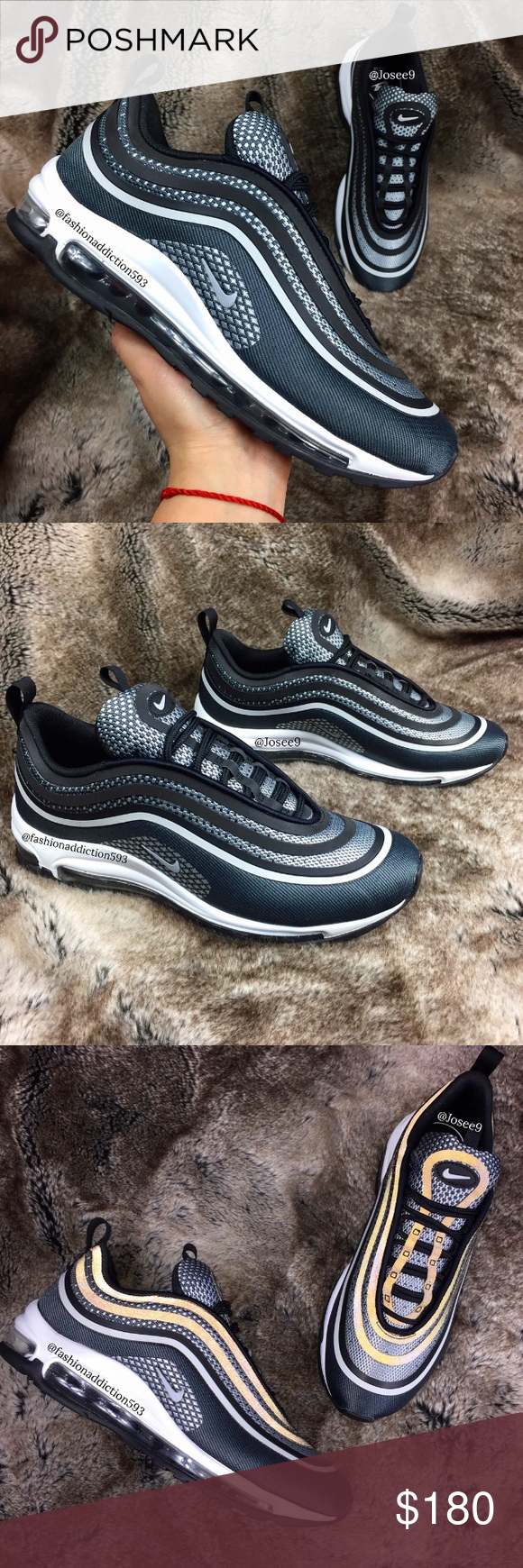 release date 363df 86be2 Nike Air Max 97 Ultra  17 Women s Black Oreo shoes •Brand new •Authentic  •Box not included •Please check out my listings for more Air Max Roshe and  Running ...