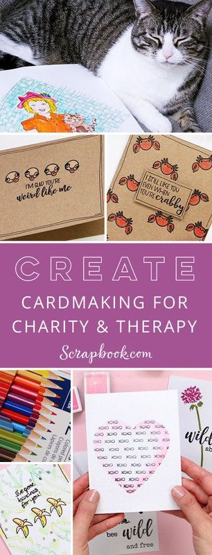 Card Making For Therapy And Charity Cardmaking Sbook Sbooking