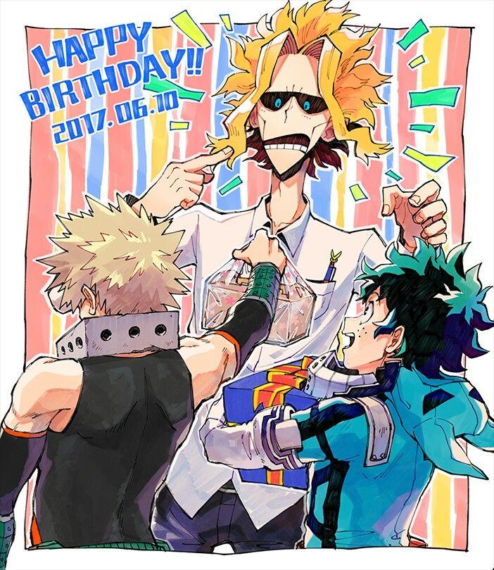Boku No Hero Academia Mha My Hero Boku No Hero Academia Anime Characters Birthdays