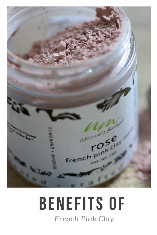 Benefits Of French Pink Clay Natural Skin Care Diy French Pink Clay Pink Clay