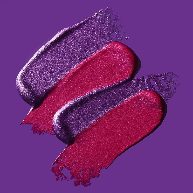 Photo of Cosmetic Texture Photography – Lipgloss –  Pink and purple lipstick texture on p…