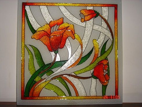 Glass Painting Designs And Patterns Easyday Glass Painting