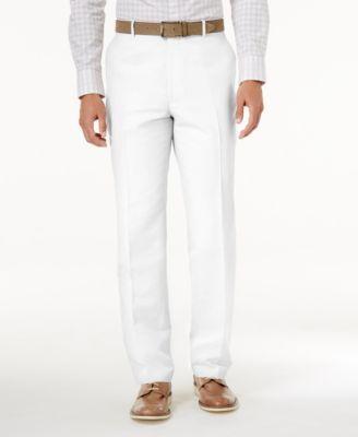 Inc International Concepts Men S Linen Blend Dress Pants Created For Macy S Macys Com Casual Dress Pants Mens Linen Pants Dress Pants