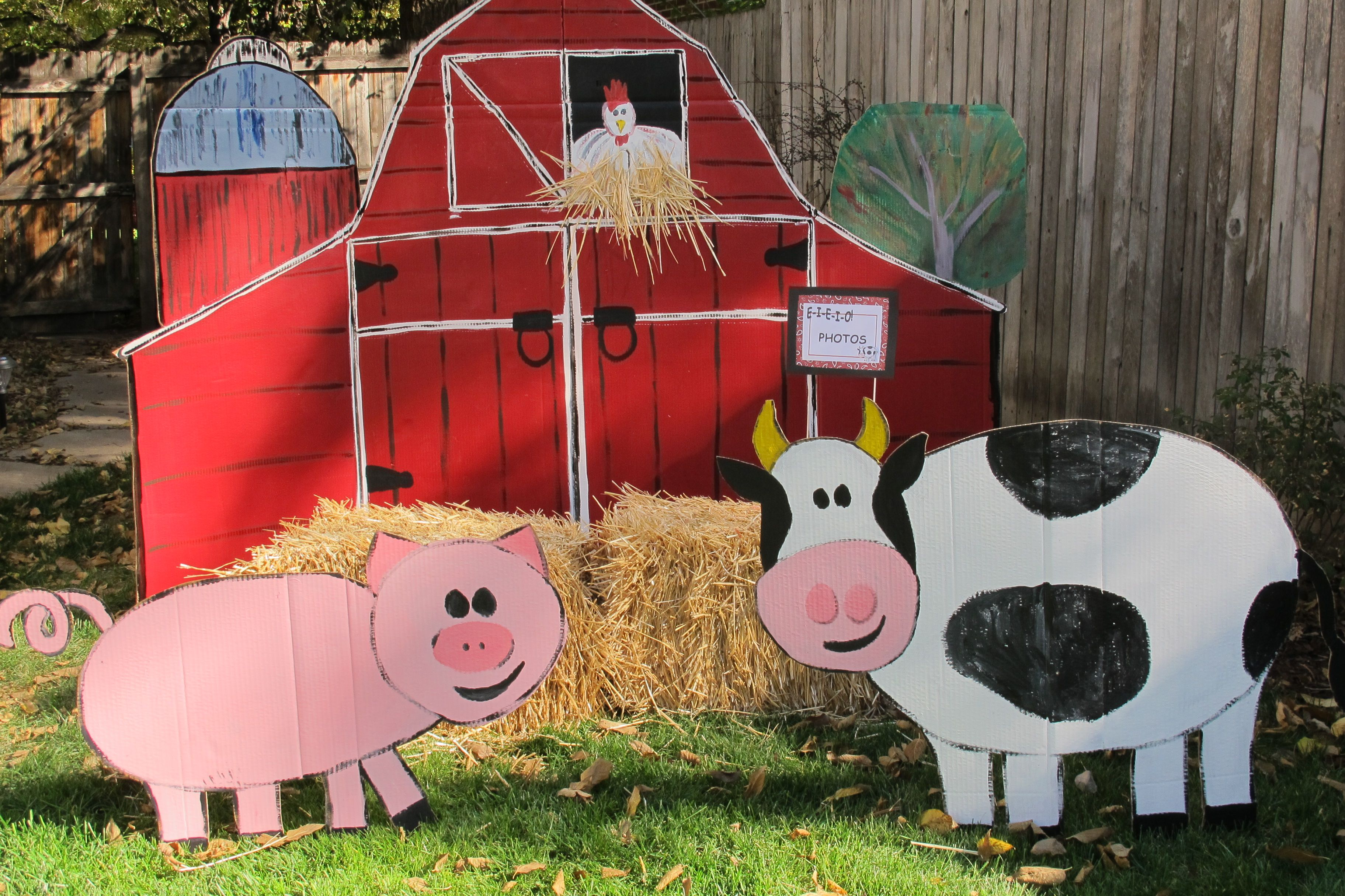 Image result for barnyard photo booth prop | Farm themed ...