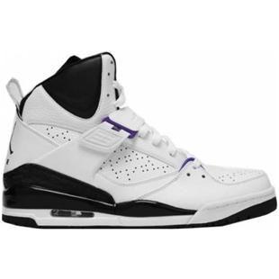 Air Jordan Vol 45 Haute Noir Gris Blanc Violet
