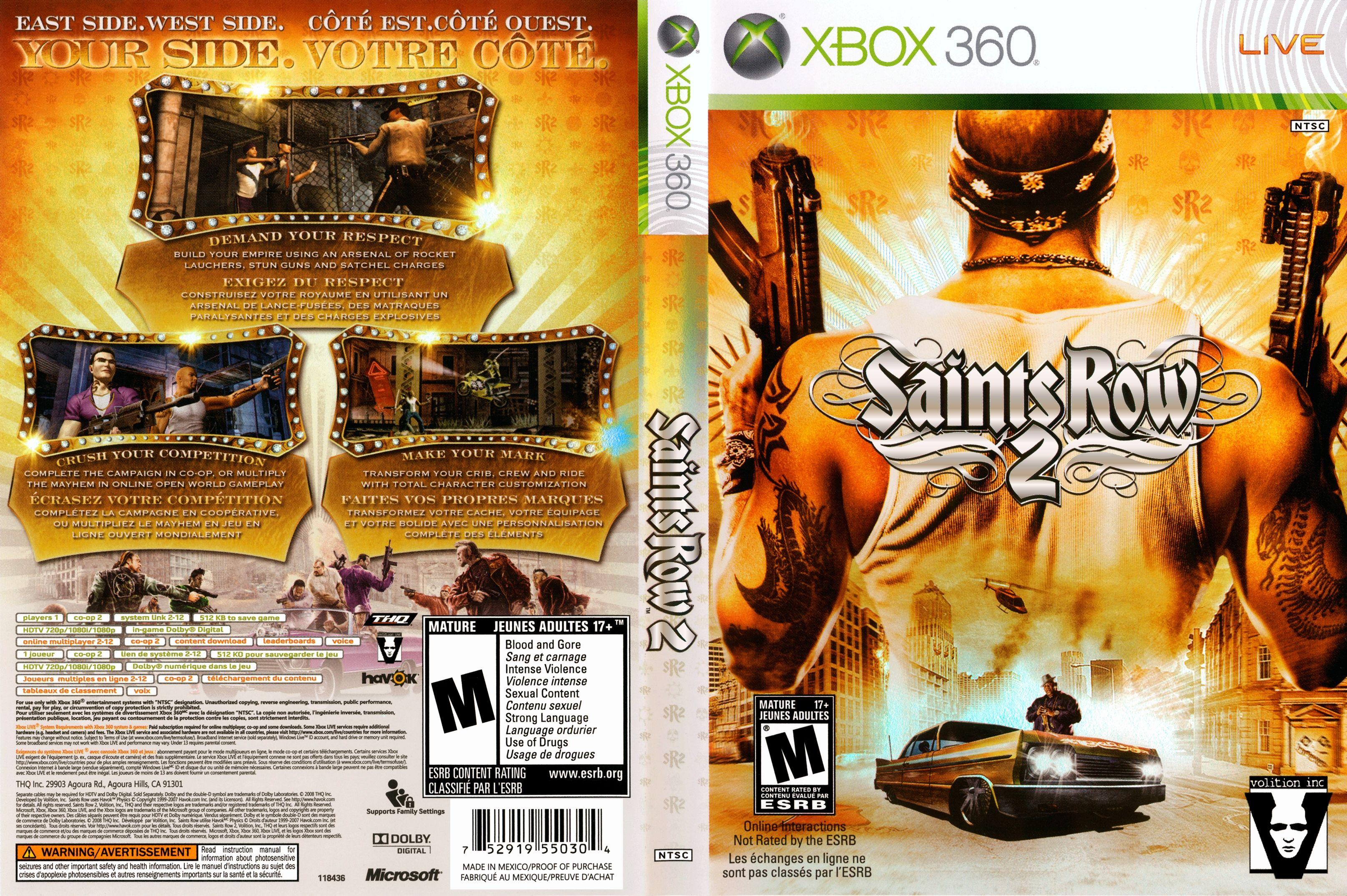 adult activities saint row xbox