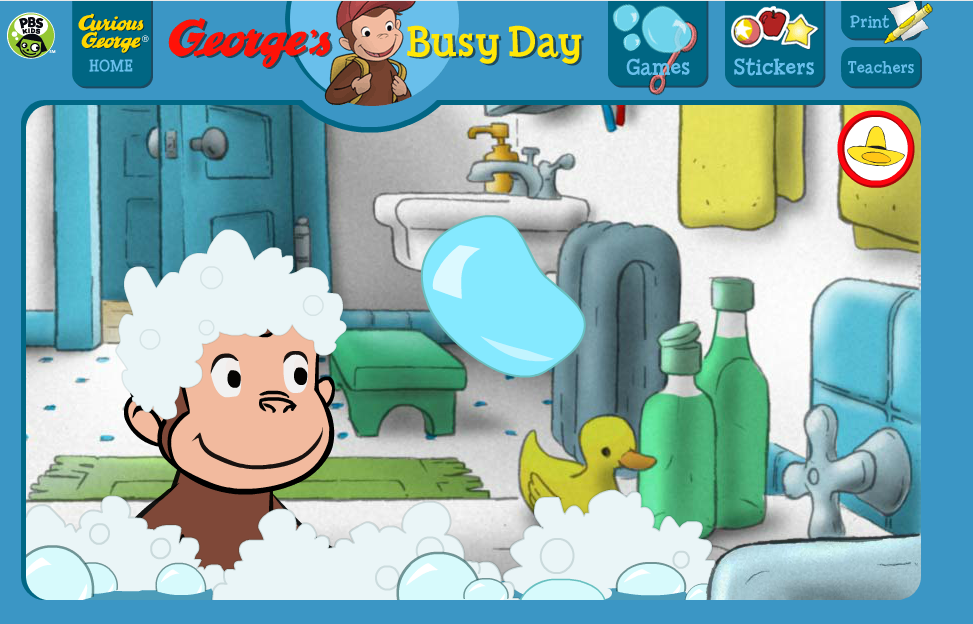 counting bubbles as you pop them http pbskids org curiousgeorge