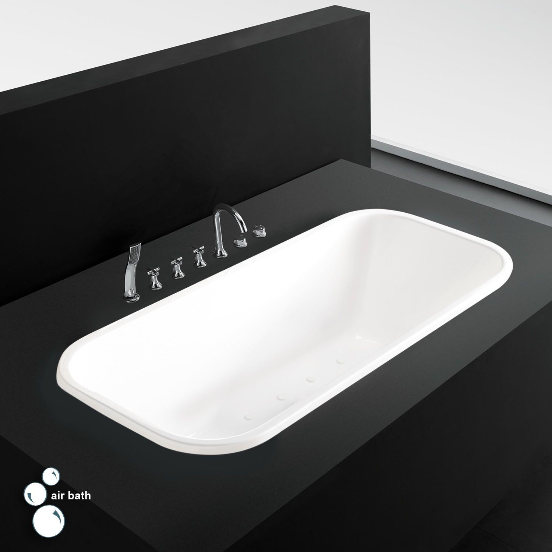 Vieux Acrylic Drop In Air Tub