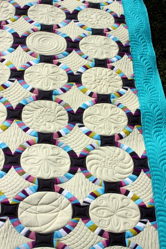 Single Wedding Ring Quilts Quilts Double Wedding Ring Quilt Wedding Ring Quilt
