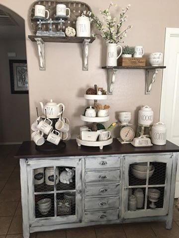 11 Rae Dunn Displays To Inspire Showcasing Your Collection