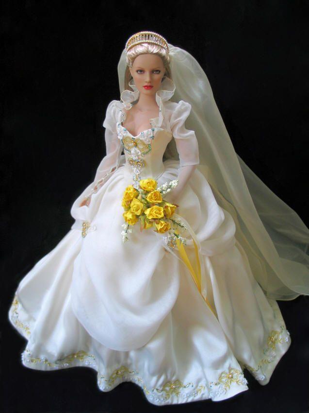 Bride Doll - Corinne #bridedolls Bride Doll - Corinne #bridedolls