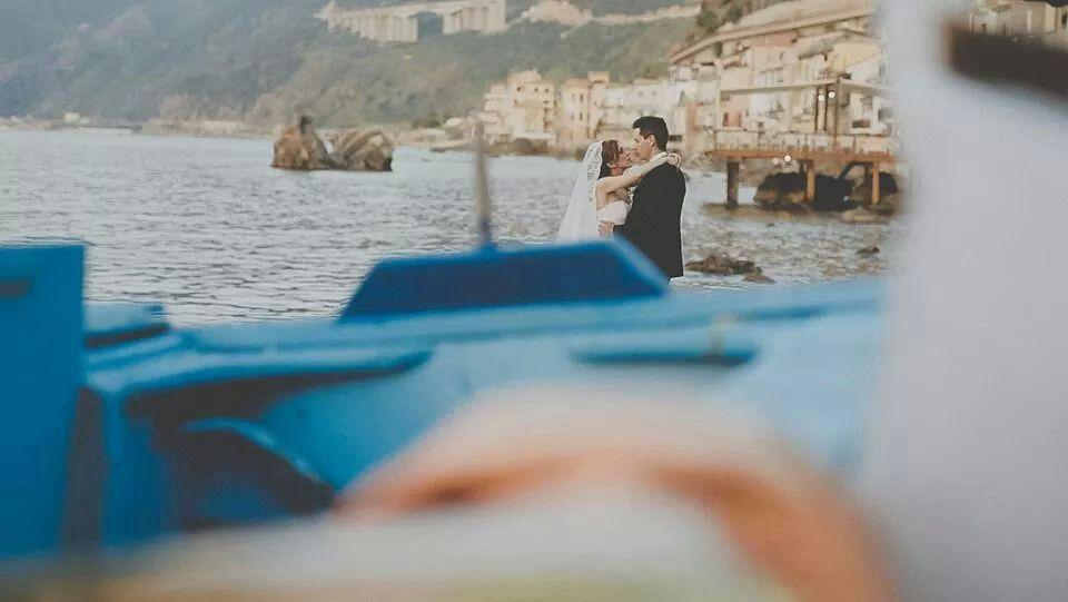 www.produzionievergreen.com  #weddingvenue #destinationwedding #love #scilla #italy #weddingfilm #cinematographer #wedding #veil