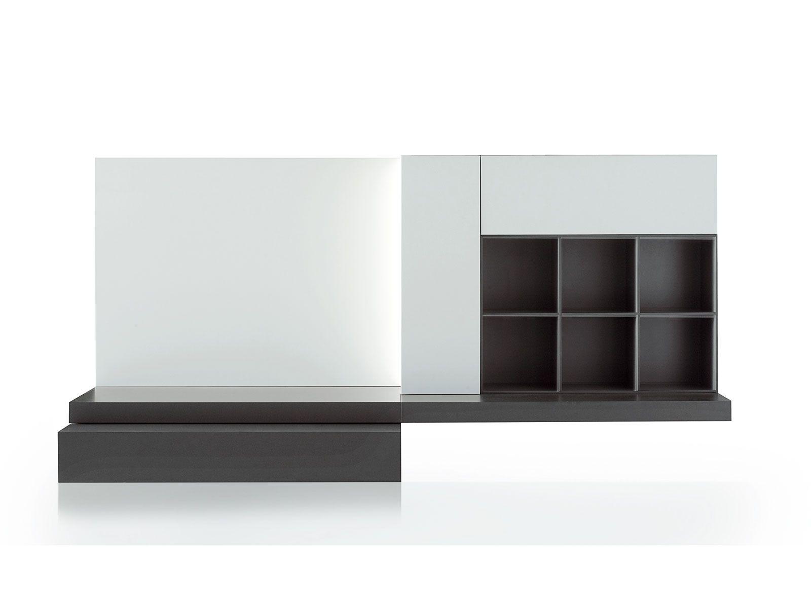 Modular storage wall modern modern collection by porro design piero lissoni