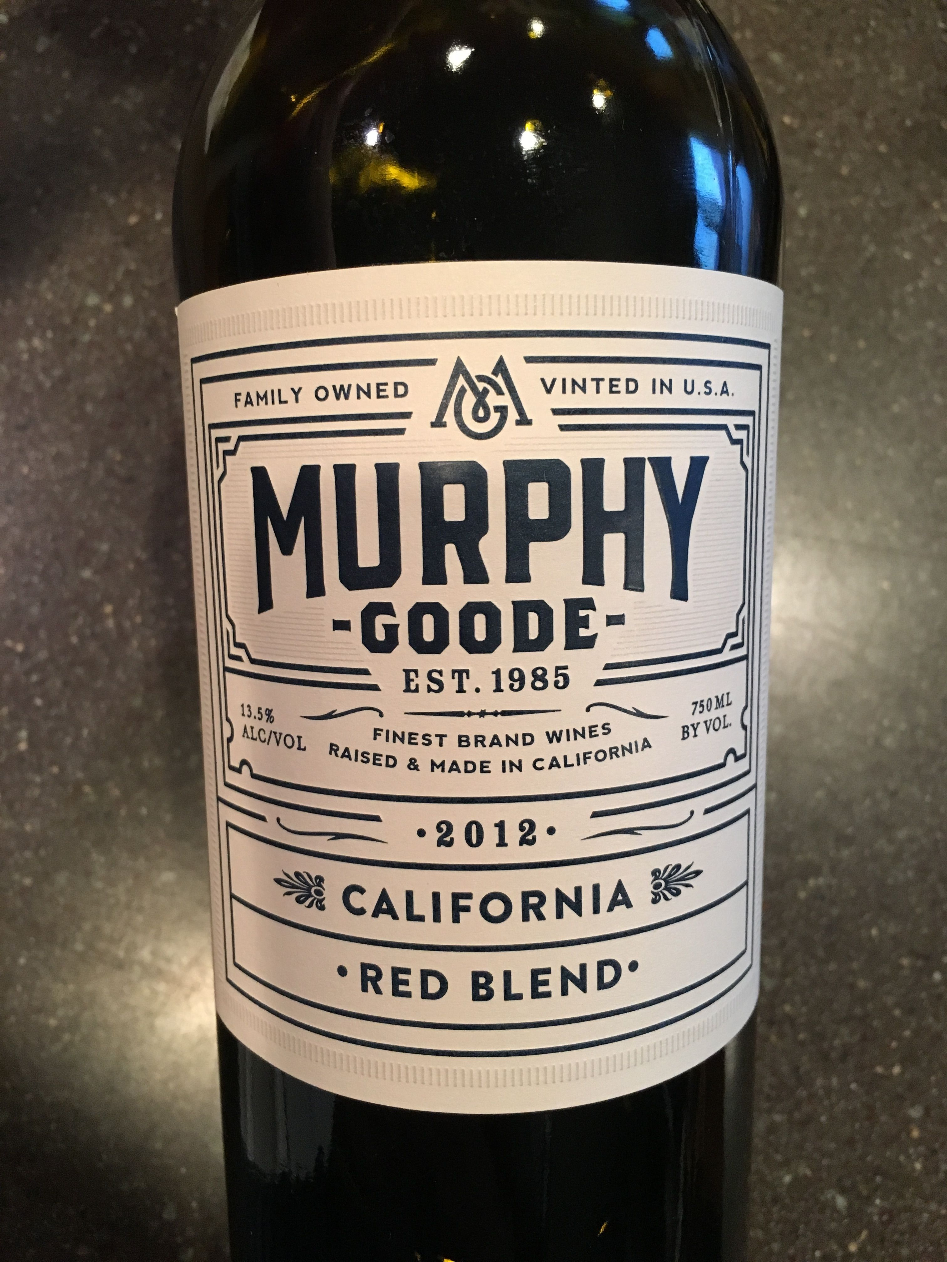 Murphy Goode Red Blend Red Blend Wine Wines Wine Bottle