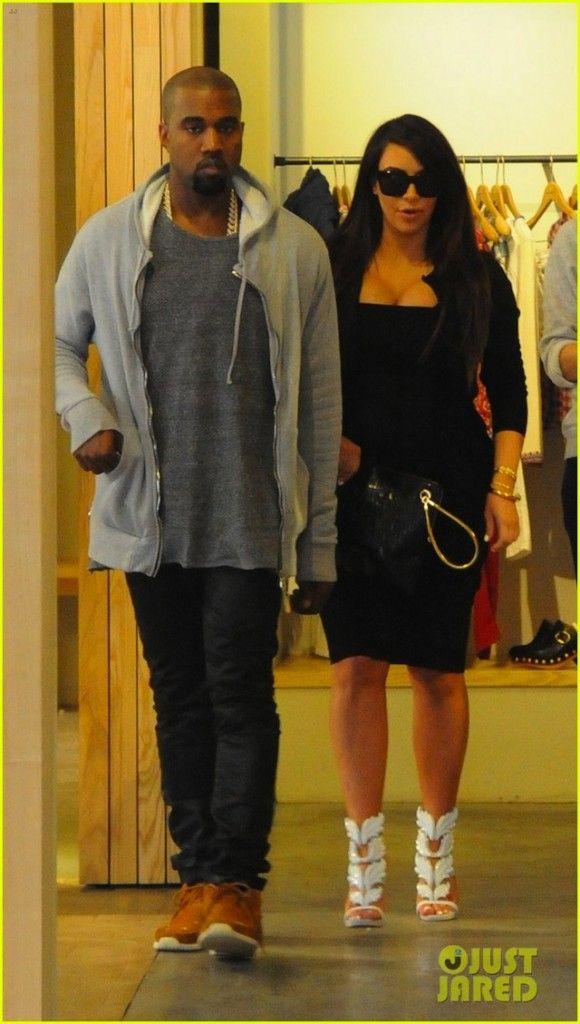 64eacaef901ef Kanye West wearing Visvim FBT Shaman | *Cute* | Kim kardashian kanye ...