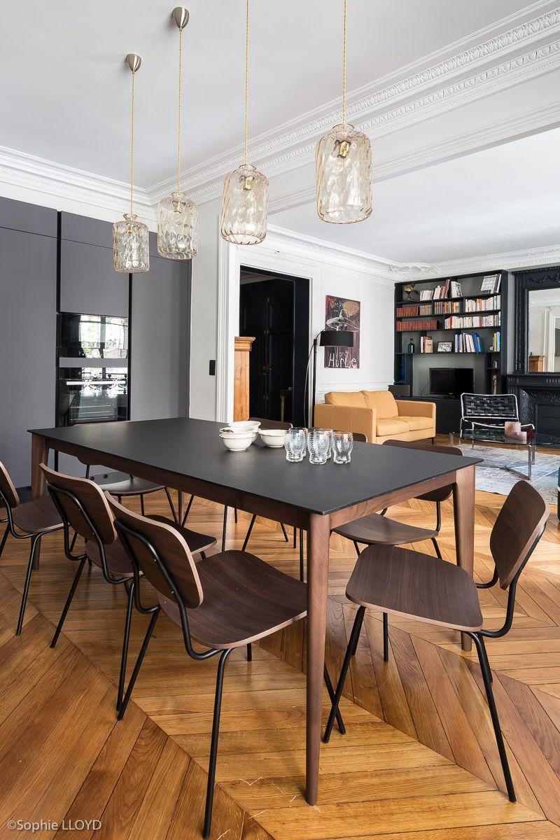 Cuisine ouverte sur salle manger et salon r novation - Amenagement salon salle a manger cuisine ouverte ...