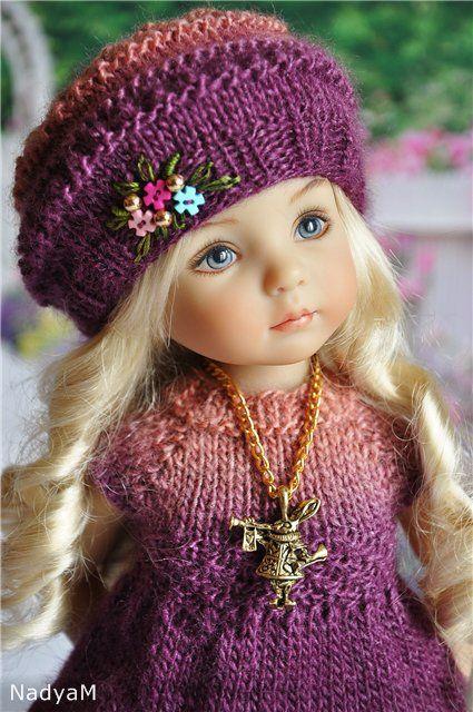 babiki.ru | Кукольная мода | Knitted dolls, Doll clothes и ...
