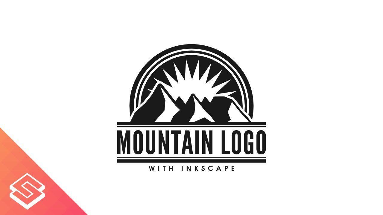 Inkscape For Beginners Vector Mountain Logo Tutorial Logo Tutorial Mountain Logos Logos