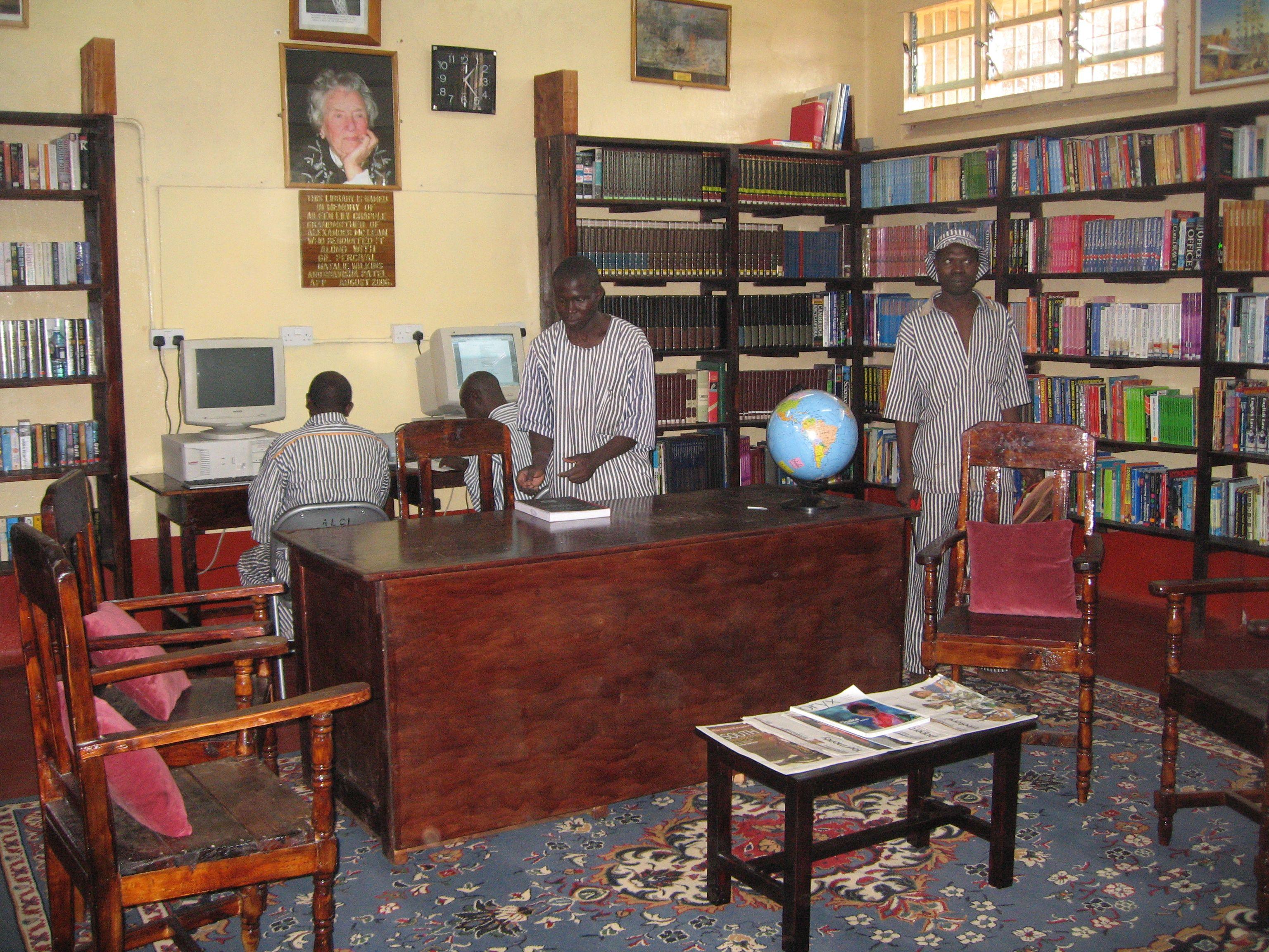 Prison Library Prison Library Visual