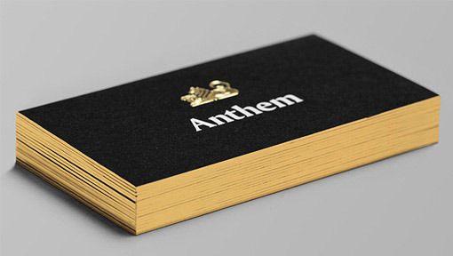 2016 Custom Feuille Dor Estampage Papier Carte De Visite Conception Noir 600gsm Bord Dorure Nom La 500 Pcs Livraison Gratuite