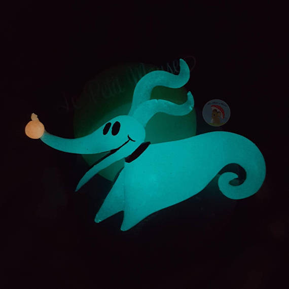 Aqua Glowing Zero Pin By Le Petit Mouse