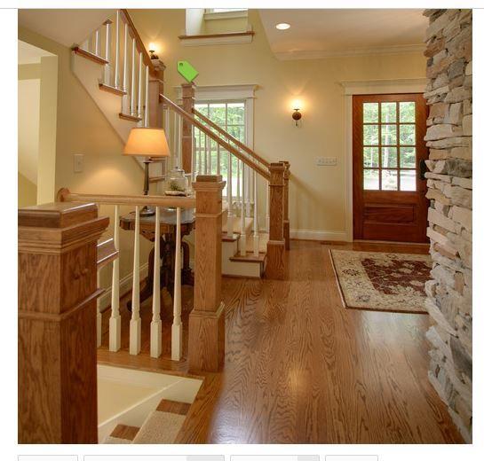 Oak Trim, Traditional Staircase