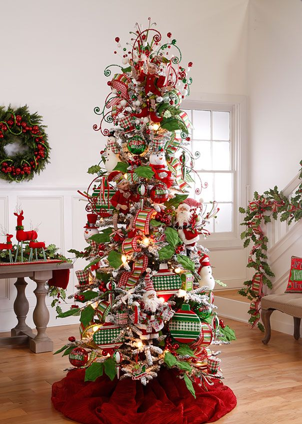 Flat PreLit Christmas Trees Using just 28 inches of space from the wall to  the front of this display, our flat trees are perfec. - 2016 RAZ Christmas Trees RAZ Christmas Decorations Christmas