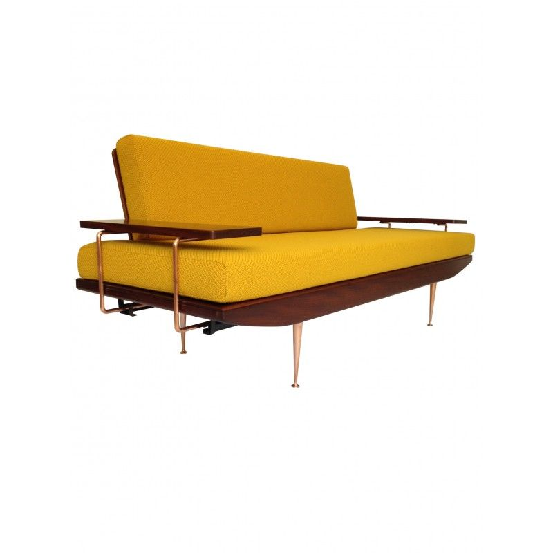 Incroyable Extremely Rare Danish Style 1960u0027s Sofa Bed By Toothill