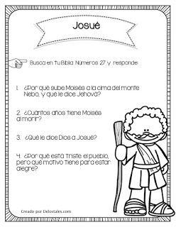 Josue De Los Tales Actividades De La Escuela Dominical Lecciones Biblicas Para Ninos Biblia Para Ninos