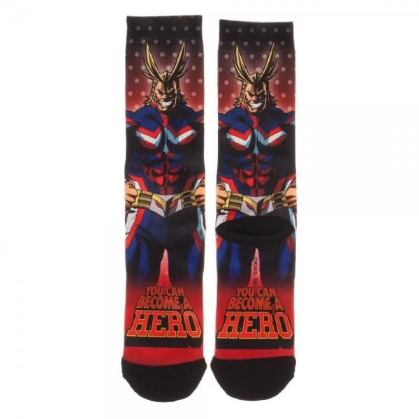ccbd2a559 My Hero Academia Sublimated Crew Socks | other versions of things i ...